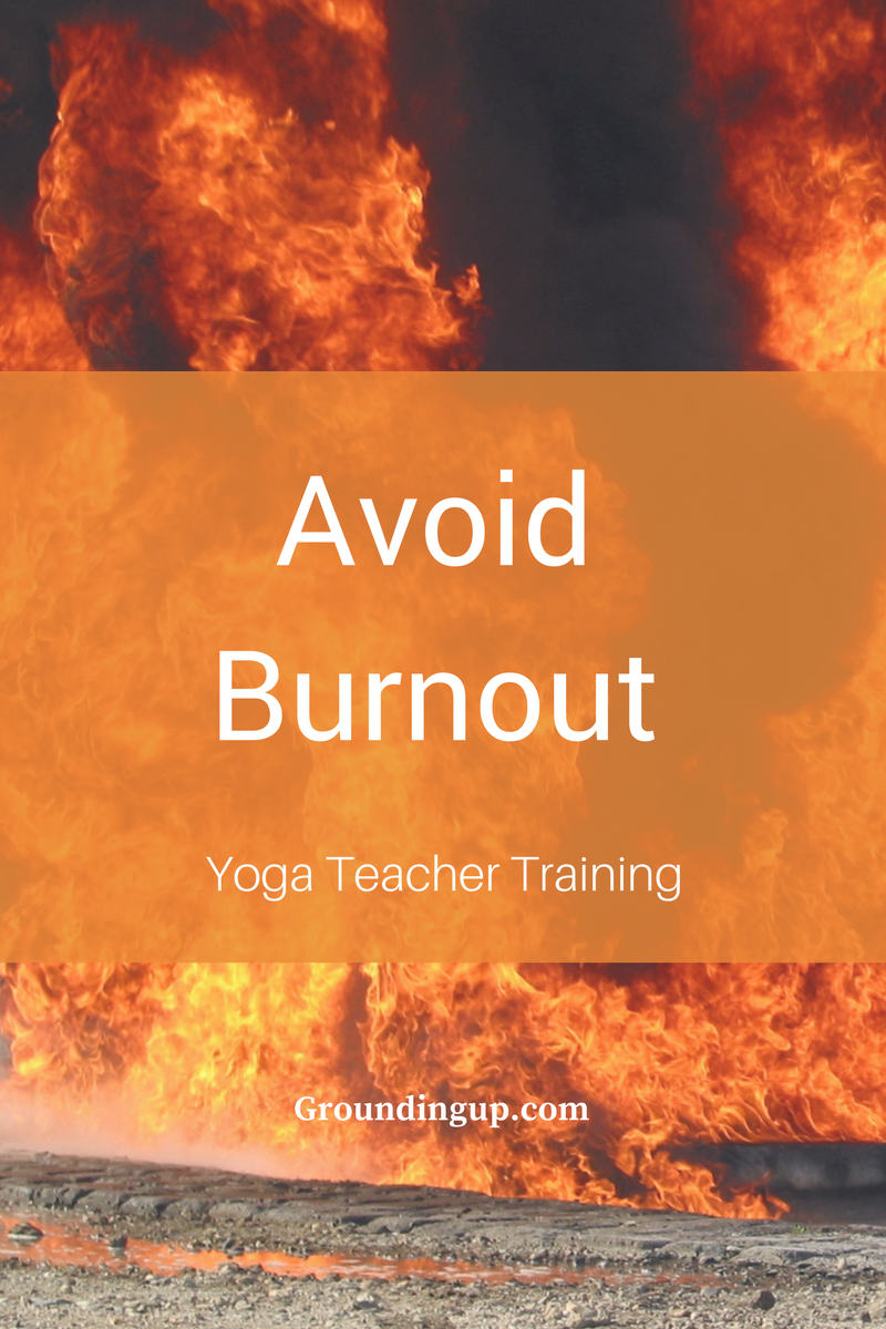 Avoid Burnout During Yoga Teacher Training